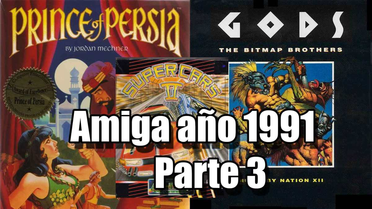 Lunes Commodore: Amiga 1991 parte 4